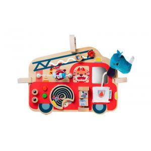Lilliputiens - 83180 - Panneau d'activités Camion de pompier (421518)