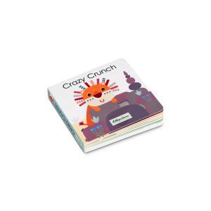 Lilliputiens - 83188 - CRAZY CRUNCH - Livre sonore & tactile (421526)