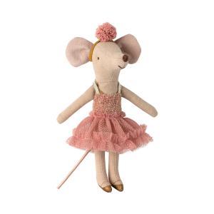 Maileg - 16-0604-00 - Souris dansante, Grande Sœur - Mira Belle -  13 cm  (421600)