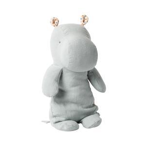 Maileg - 16-0922-00 - Peluche Safari friends, Medium Hippo -   34 cm (421718)