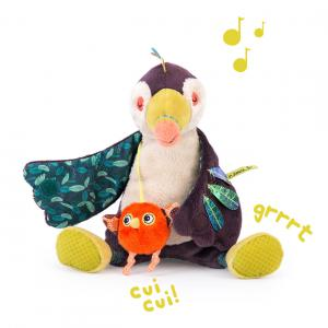 Moulin Roty - 668041 - Toucan Pakou musical Dans la Jungle (422656)