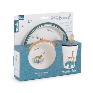 Moulin Roty - 669230 - Set vaisselle Sous mon baobab (422696)