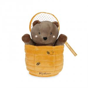 Kaloo - K963590 - Marionette Cache-cache Ours Ted (424514)