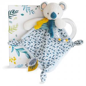Doudou et compagnie - DC3666 - Yoca le koala - doudou hochet - taille 22 cm (428000)