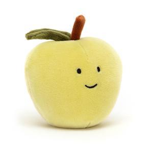 Jellycat - FABF6A - Peluche pomme Fabulous Fruit - l = 9 cm x H =7 cm (452440)