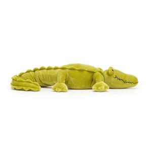 Jellycat - ZIG2C - Peluche crocodile Zigzag - L = 11 cm x l = 77 cm x H =8 cm (452558)