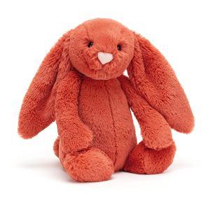 Jellycat - BAS3CIN - Peluche lapin Bashful Cinnamon - l = 12 cm x H =31 cm (452654)