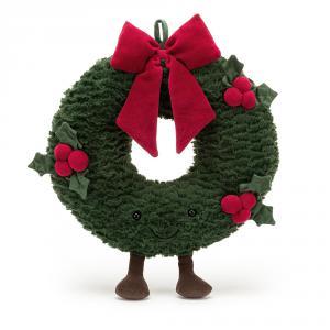 Jellycat - A2WRE - Amuseable Wreath - 35  cm (452800)