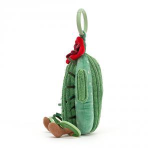 Jellycat - AAT2C - Anneau de jeu avec peluche cactus Amuseable - l = 11 cm x H =25 cm (452808)