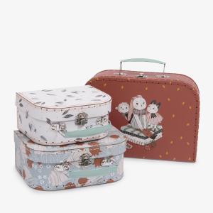 Moulin Roty - 715150 - Set de 3 valises Après la pluie (454886)