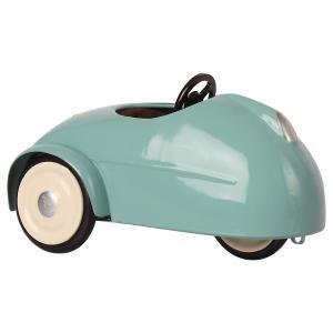 Maileg - 16-0727-00 - Mouse car w. garage - Blue  - Hauteur : 10 cm (455338)
