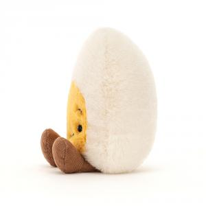 Jellycat - BE6CON - Boiled Egg Confused - l = 8 cm x H =14 cm (455830)