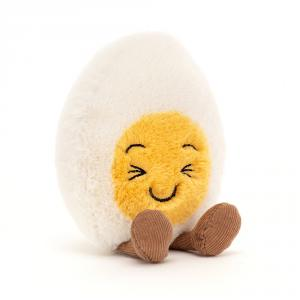 Jellycat - BE6LAU - Boiled Egg Laughing - l = 8 cm x H =14 cm (455832)