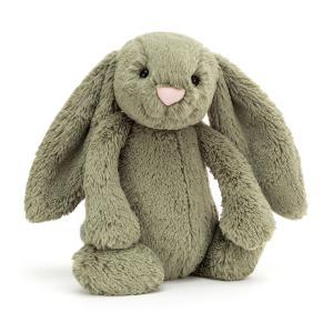 Jellycat - BAS3FERN - Bashful Fern Bunny Medium - l = 12 cm x H =31 cm (455846)