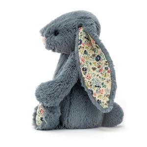 Jellycat - BL3DUSK - Blossom Dusky Blue Bunny Medium - l = 12 cm x H =31 cm (455854)