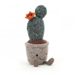 Jellycat - SS6PPC - Peluche cactus figue de barbarie Silly Succulent - l = 8 x H = 24 cm (457332)