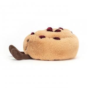 Jellycat - A6PARAI - Peluche Pain au raisin Amuseable - l = 12 x H = 12 cm (457338)