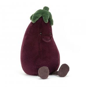 Jellycat - A2AUB - Peluche aubergine Amuseable - l = 13 x H = 31 cm (457340)