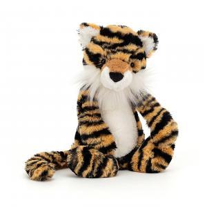 Jellycat - BAS3TIG - Peluche tigre Bashful Medium - l = 12 x H = 31 cm (457350)