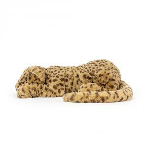 Jellycat - CHAR4C - Peluche guépard Charley Little - l = 29 x H = 8 cm (457362)