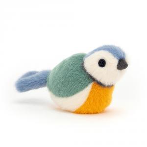 Jellycat - BIR6BT - Peluche oiseau mésange Birdling - l = 7 x H = 10 cm (457364)