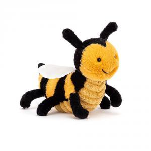 Jellycat - BER6BEE - Peluche abeille Berta  - l = 16 x H = 10 cm (457412)
