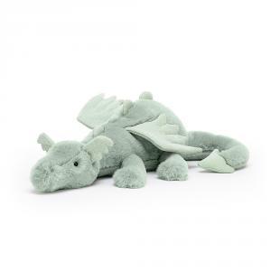 Jellycat - SAGE2DD - Peluche dragon Sage - l = 50 x H = 12 cm (457474)