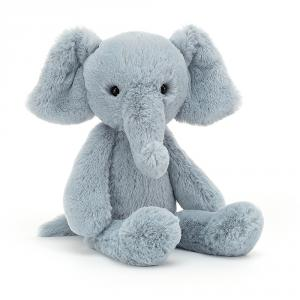 Jellycat - BOBB6E - Peluche bébé elephant - l = 9 cm x H = 24 cm (457510)