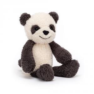 Jellycat - WOO3PA - Peluche panda Woogie - l = 8 x H = 23 cm (457546)