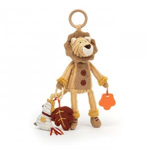 Jellycat - SRA2L - Cordy Roy Lion Activity Toy (457564)