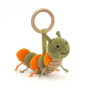 Jellycat - CHR6R - Little Christopher Caterpillar Rattle (457582)
