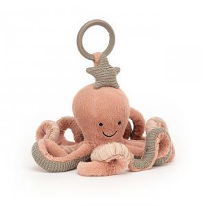 Jellycat - OD2AT - Anneau de jeu octopus Odell - l = 20 cm x H= 10 cm (457584)