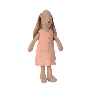 Maileg - 16-1100-00 - Lapine  1, avec robe, rose -  25 cm (460972)