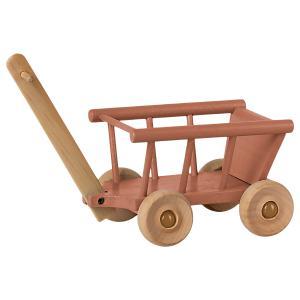 Maileg - 11-1003-01 - Chariot, Micro - Rose foncé - 12 cm (461096)