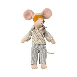 Maileg - 16-1740-03 - Pyjama pour Papa souris - 1,5 cm (461106)