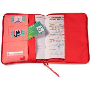 Lilliputiens - 83282 - FORÊT Housse carnet de santé (462216)