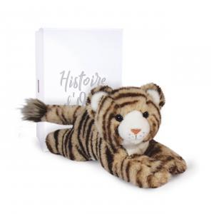 Histoire d'ours - HO3060 - BENGALY LE TIGRE - 25 cm en boîte carton (463208)