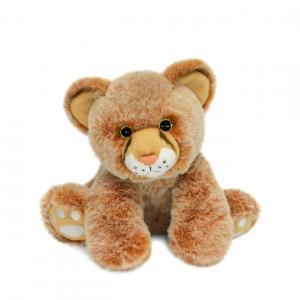 Histoire d'ours - HO3056 - Bébé Lion 18 cm  en boîte carton (463218)