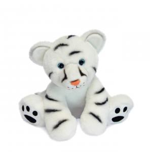 Histoire d'ours - HO3054 - Bébé Tigre Blanc - 25 cm  en boîte carton (463226)