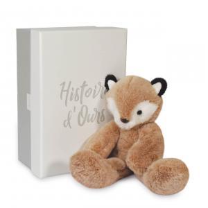 Histoire d'ours - HO3071 - SWEETY MOUSSE petit modèle - Renard 25 cm en boîte carton (463254)