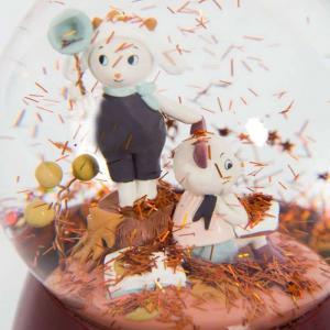 Moulin Roty - 715175 - Boule à neige musicale Après la pluie (465348)