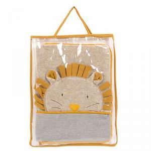 Moulin Roty - 669081 - Protège carnet de santé tête lion Sous mon baobab (465382)