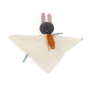 Moulin Roty - 715016 - Doudou lapin crème Après la pluie (466284)