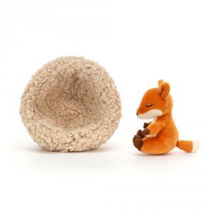 Jellycat - HIB3F - Peluche renard hibernant (471522)