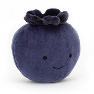 Jellycat - FABF6BB - Peluche fruit Fabulous myrtilles (471632)