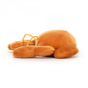 Jellycat - SSEA6CR - Peluche fruits de mer Sensational crabe (471636)