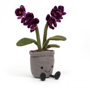 Jellycat - A2OR - Peluche Amuseable orchidée violette (471692)