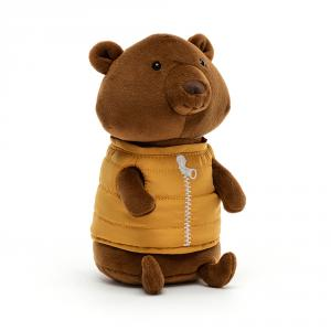 Jellycat - CAMP3B - Peluche ours Campfire Critter (471718)