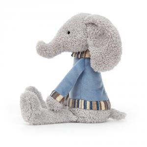Jellycat - LING4E - Peluche éléphant Lingley (471822)