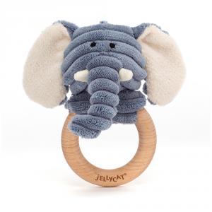 Jellycat - SR4WE - Anneau de dentition bébé éléphant Cordy Roy (471836)